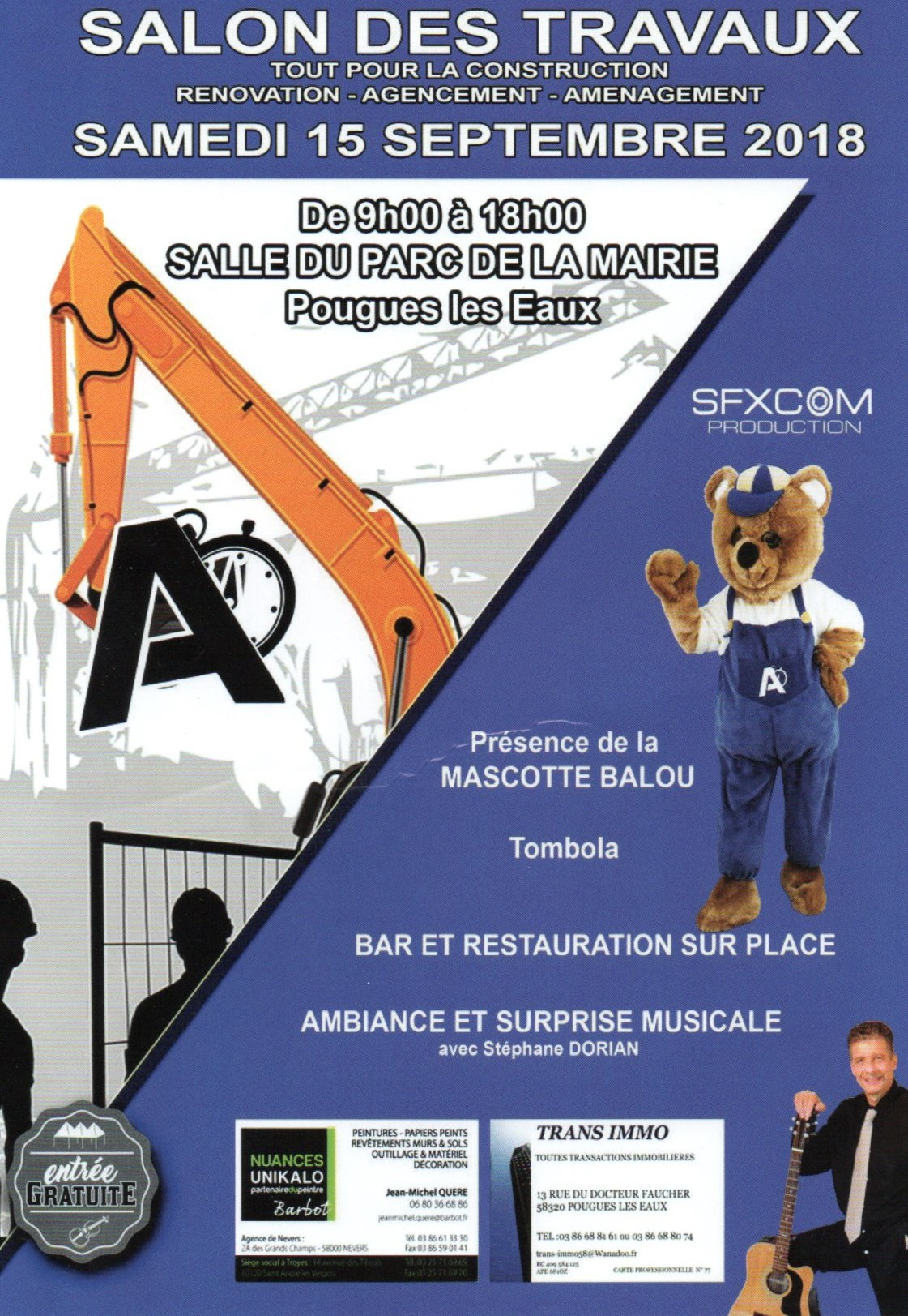 Affiche officielle du salon